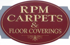 RPM Carpets & Floorcoverings Logo