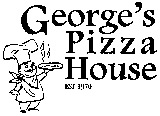 George's House of Pizza logo