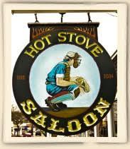 Hot Stove Saloon restaurant logo