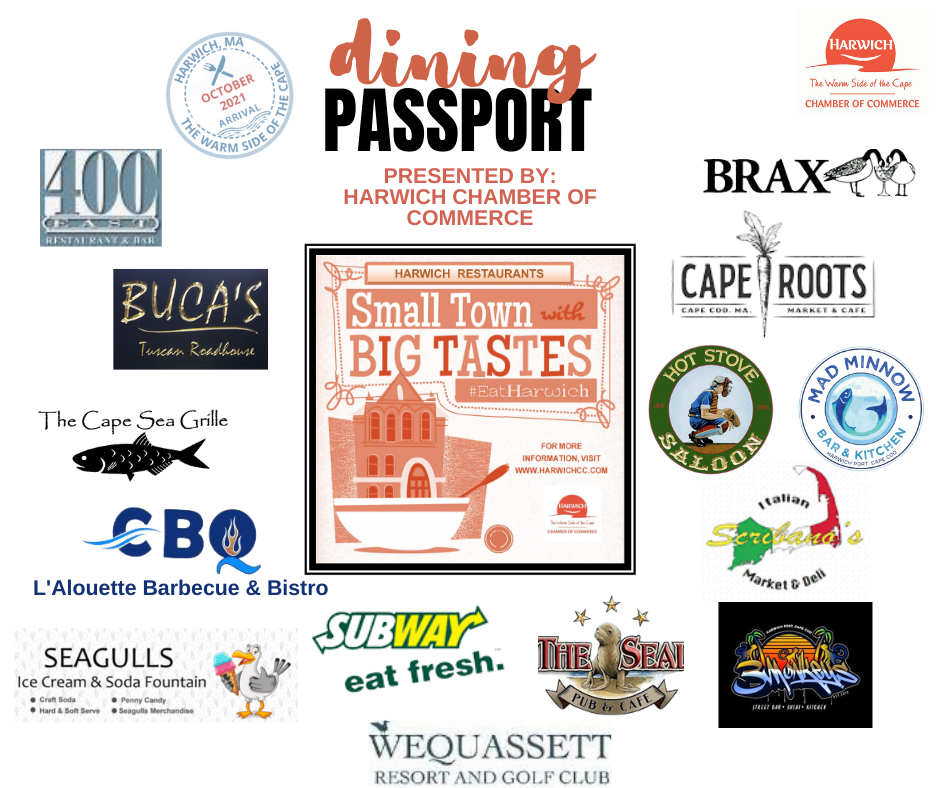 2021 October Restaurant Month Small Town with Big Tastes